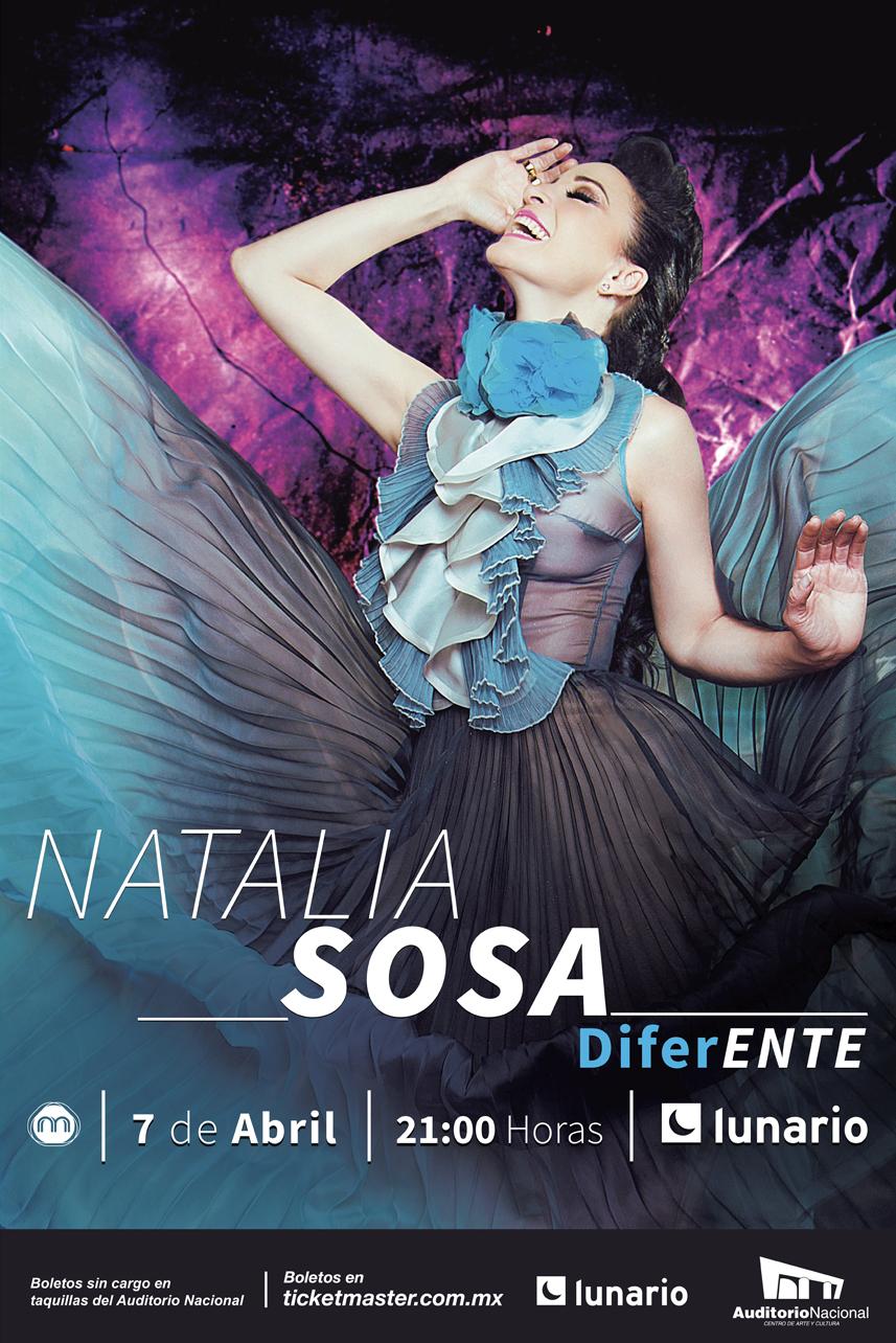 Natalia Sosa el 7 de abril de 2018 en Lunario